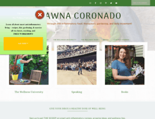 shawnacoronado.com screenshot