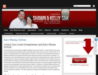 shawnandkellyhodgson.com screenshot
