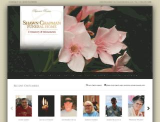 shawnchapmanfh.com screenshot