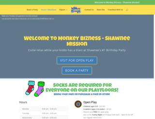 shawneemission.monkeybizness.com screenshot