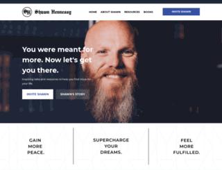 shawnhennessy.com screenshot