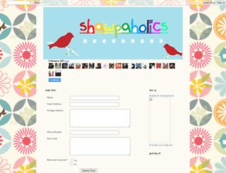 shawpaholics.blogspot.com screenshot