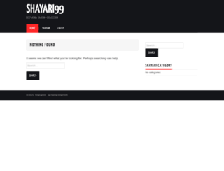 shayari99.com screenshot