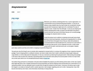 shaynataverner.wordpress.com screenshot