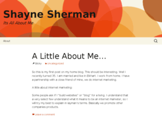 shaynesherman.com screenshot