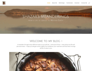 shazarrobinson.com screenshot