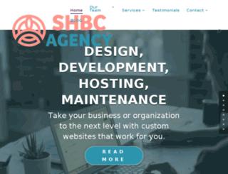 shbcagency.com screenshot