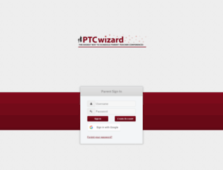 shcamn.ptcwizard.com screenshot