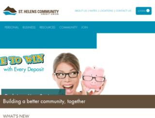 shcfcu.org screenshot