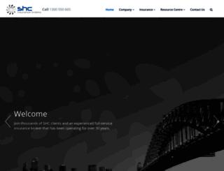 shcorp.com.au screenshot