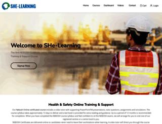 she-learning.com screenshot