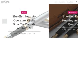 sheafferpens.org screenshot
