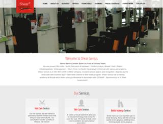 sheargenius.co.in screenshot