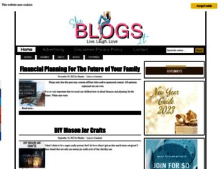 sheblogsit.com screenshot