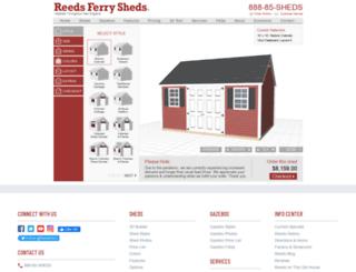 shed-builder.reedsferry.com screenshot