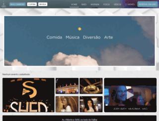 shedbar.com.br screenshot