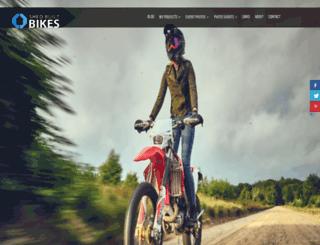 shedbuiltbikes.com screenshot