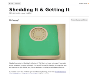 sheddingit.com screenshot