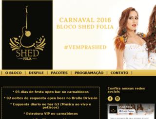 shedfolia.com.br screenshot