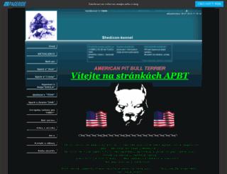 shedicon-kennel.wbs.cz screenshot