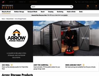 sheds.com screenshot