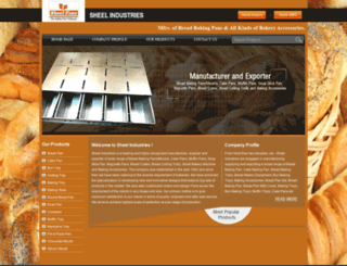 sheelpans.tradeindia.com screenshot