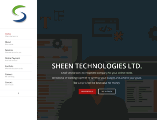 sheentechnologies.com screenshot