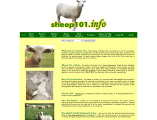 sheep101.info screenshot