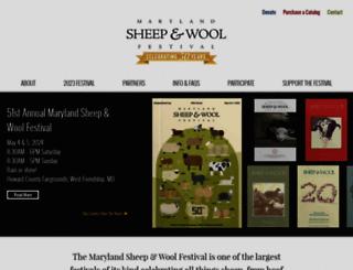 sheepandwool.org screenshot