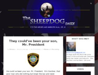 sheepdogdaily.com screenshot