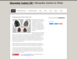 sheepskinjackets.webs.com screenshot