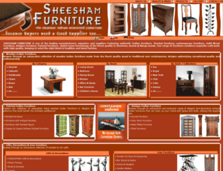 sheeshamfurniture.co.in screenshot