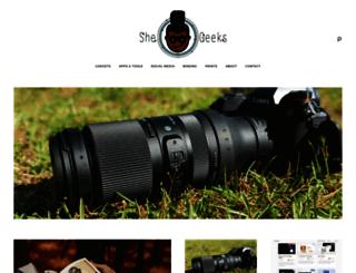 shegeeks.net screenshot