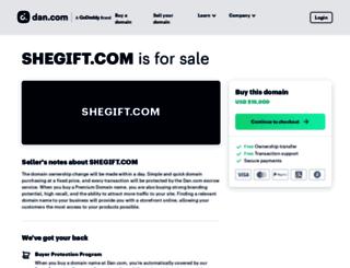 shegift.com screenshot