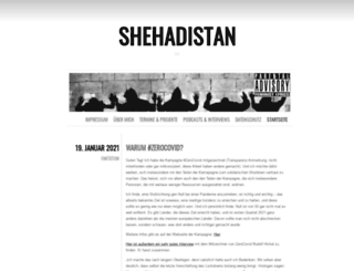 shehadistan.com screenshot