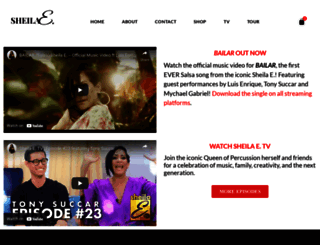 sheilae.com screenshot