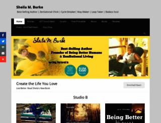 sheilamburke.com screenshot