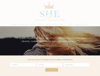 sheismore.com screenshot