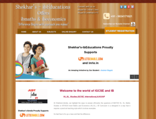shekhar-ibindia.com screenshot