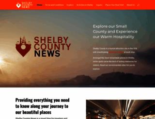 shelbycountynews.net screenshot