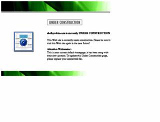 shelbywhite.com screenshot