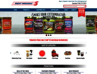 shelbywholesale.com screenshot
