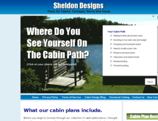sheldondesigns.com screenshot
