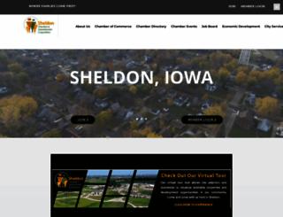 sheldoniowa.com screenshot
