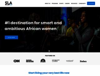 sheleadsafrica.org screenshot