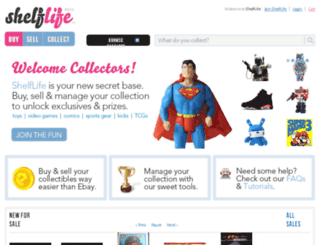 shelflifex.com screenshot