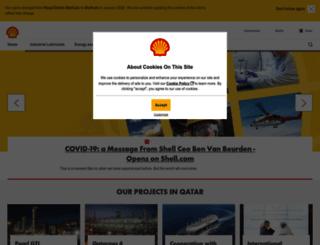 shell.com.qa screenshot