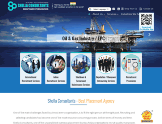 shellaconsultants.com screenshot