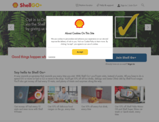 shelldriversclub.co.uk screenshot