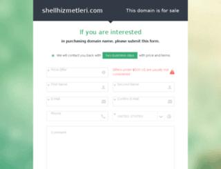 shellhizmetleri.com screenshot